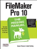 Filemaker Pro 10 2nd 2009 Revised  9780596154233 Front Cover
