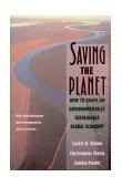 Saving the Planet How to Shape an Environmentally Sustainable Global Economy 1991 9780393308235 Front Cover