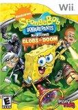 Case art for SpongeBob SquarePants featuring NickToons: Globs of Doom - Nintendo Wii