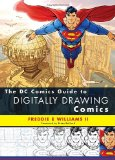 DC Comics Guide to Digitally Drawing Comics 1st 2009 9780823099238 Front Cover