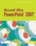 Microsoft Office Powerpoint 2007 - Introductory 1st 2007 9781423905240 Front Cover