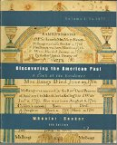 Discovering the American Past Vol. 1 : A Look at the Evidence to 1877 5th 2001 9780618102242 Front Cover