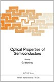 Optical Properties of Semiconductors 2010 9789048142248 Front Cover