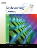 Keyboarding Course, Lessons 1-25 16th 2005 Revised 9780538728249 Front Cover