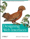 Designing Web Interfaces Principles and Patterns for Rich Interactions 2009 9780596516253 Front Cover