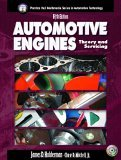 Automotive Engines Theory and Servicing 5th 2004 9780131133259 Front Cover