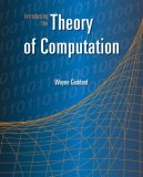 Introducing the Theory of Computation 2008 9780763741259 Front Cover