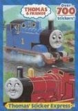 THOMAS' STICKER EXPRESS (Thomas and Friends) 2006 9780375841262 Front Cover