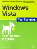 Windows Vista for Starters: the Missing Manual The Missing Manual 2007 9780596528263 Front Cover