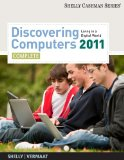 Discovering Computers 2011 1st 2010 9781439079263 Front Cover