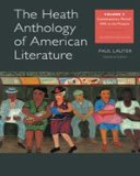 Heath Anthology of American Literature Volume E 7th 2013 9781133310266 Front Cover