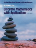 Discrete Mathematics 3rd 2004 Student Manual, Study Guide, etc.  9780534360283 Front Cover