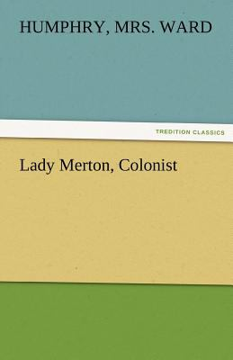 Lady Merton, Colonist 2011 9783842474284 Front Cover