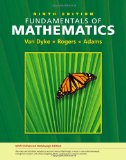 Fundamentals of Mathematics 9th 2009 9781439047293 Front Cover
