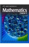 Holt Mcdougal Mathematics Student Edition Course 2 2010