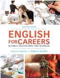 English for Careers Business, Professional and Technical