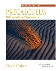 Precalculus : with Unit Circle Trigonometry (with Interactive Video Skillbuilder CD-ROM) 4th 2005 Revised  9780534402303 Front Cover