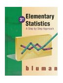 Elementary Statistics A Step-by-Step Approach 3rd 1997 9780256234305 Front Cover
