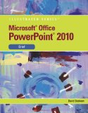 Microsoft� PowerPoint� 2010 2010 9780538748308 Front Cover