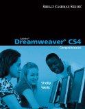 Adobe Dreamweaver CS4 Comprehensive Concepts and Techniques 2009 9780324788310 Front Cover