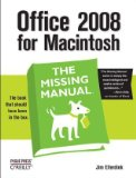 Office 2008 for Macintosh 4th 2008 Revised  9780596514310 Front Cover