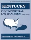 Kentucky Environmental Law Handbook 3rd 2001 Revised 9780865878310 Front Cover