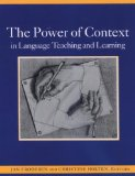 Power of Context in Language Teaching and Learning 2004 9781413001310 Front Cover