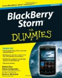 BlackBerry Storm for Dummies 2nd 2010 9780470565315 Front Cover
