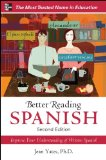 Better Reading Spanish, 2nd Edition 2nd 2011 9780071770316 Front Cover