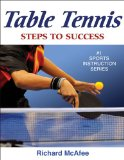 Table Tennis 1st 2009 9780736077316 Front Cover