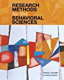 Research Methods for the Behavioral Sciences: