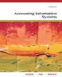 Accounting Information Systems 9th 2011 9780538469319 Front Cover