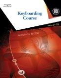 Keyboarding Course 17th 2008 9780538731324 Front Cover