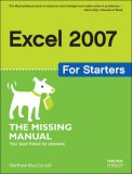 Excel 2007 for Starters 1st 2007 9780596528324 Front Cover