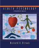 Health Psychology 3rd 2011 Revised  9781429216326 Front Cover