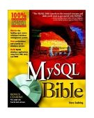 MySQL Bible 2002 9780764549328 Front Cover