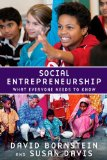 Social Entrepreneurship 2010 9780195396331 Front Cover