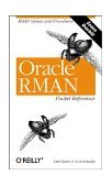 Oracle RMAN Pocket Reference 2001 9780596002336 Front Cover