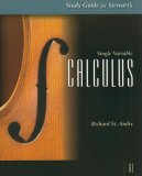 Single Variable Calculus 6th 2007 9780495012337 Front Cover