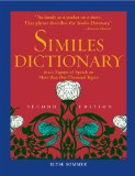 Similes Dictionary 2nd 2013 9781578594337 Front Cover