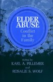 Elder Abuse Conflict in the Family 1986 9780865691339 Front Cover
