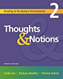 Thoughts and Notions 2nd 2005 Revised  9781413013344 Front Cover