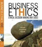 Business Ethics Ethical Decision Making and Cases 7th 2006 9780618749348 Front Cover