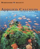 Applied Calculus 4th 2006 9780618606351 Front Cover