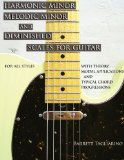 Harmonic Minor, Melodic Minor, and Diminished Scales for Guitar 2012 9780980235357 Front Cover