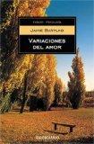 Variaciones Del Amor/ Variations of Love: 2005 9789875660359 Front Cover