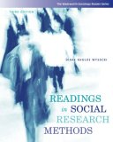 Readings in Social Research Methods 3rd 2007 Revised 9780495093374 Front Cover