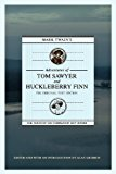 Mark Twain's Adventures of Tom Sawyer and Huckleberry Finn: the Original Text Edition 2012 9781603062374 Front Cover