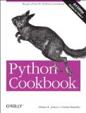 Python Cookbook 3rd 2013 9781449340377 Front Cover