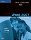Microsoft Office Word 2007 Comprehensive Concepts and Techniques 1st 2007 9781418843380 Front Cover